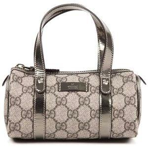Vintage Gucci Mini Boston Bag